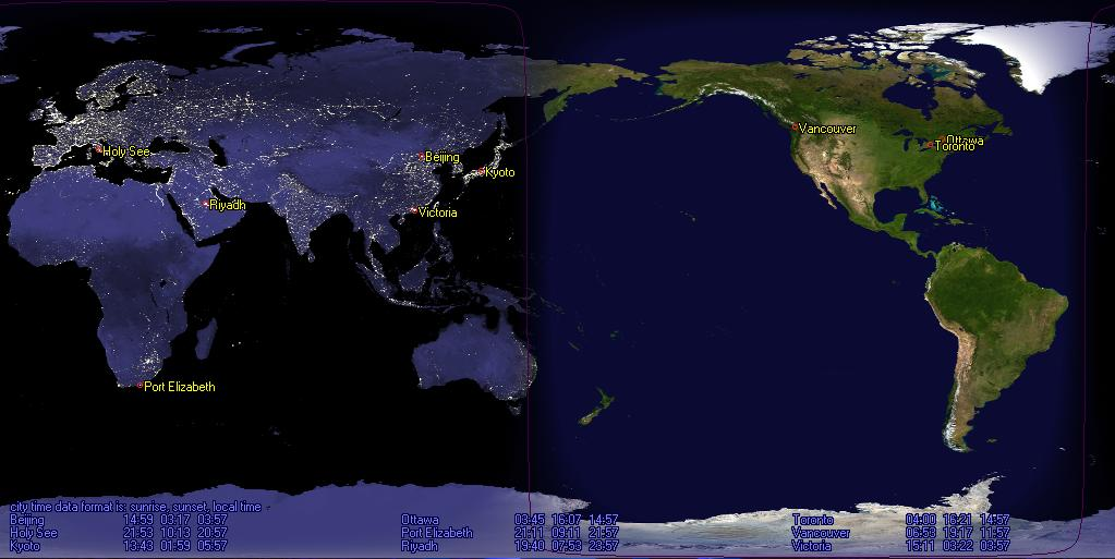 Desktop sun tracker sun clock home page screenshots gumiabroncs Image collections