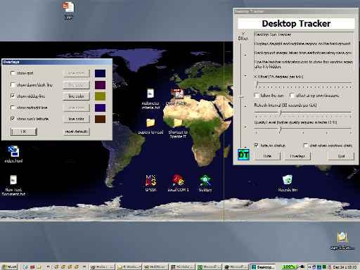 Desktop Sun Tracker (Sun Clock) Home Page